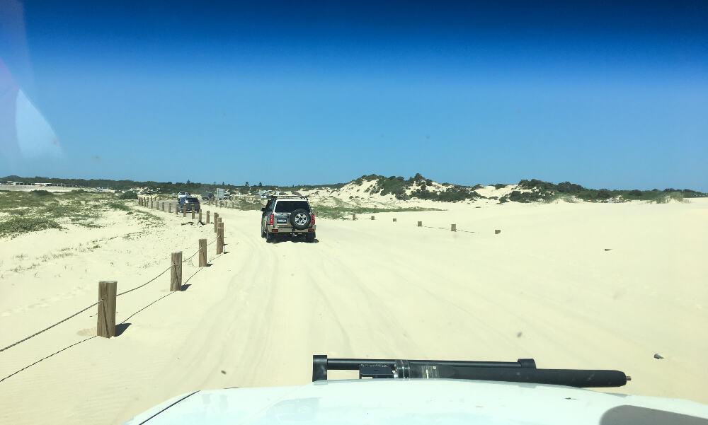 Beach Driving