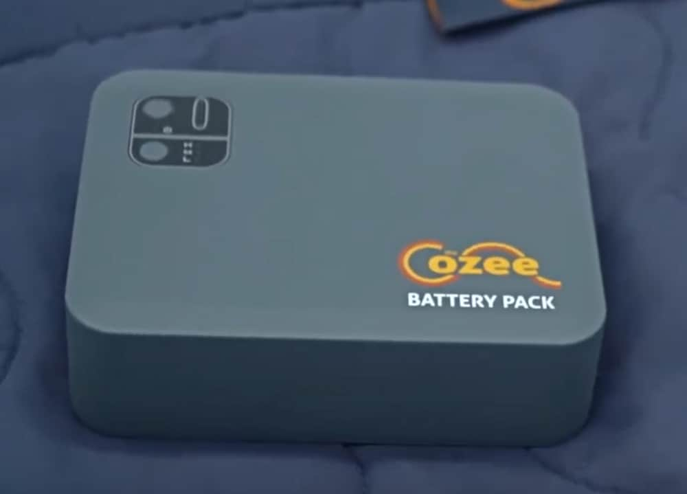 Cozee heated blanket battery pack
