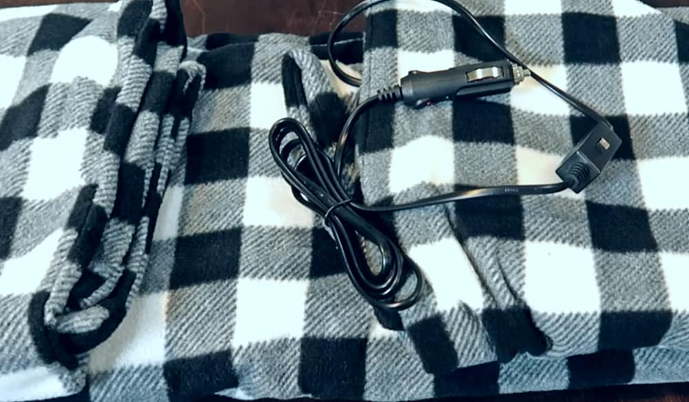 Stalwart car blanket charging cable