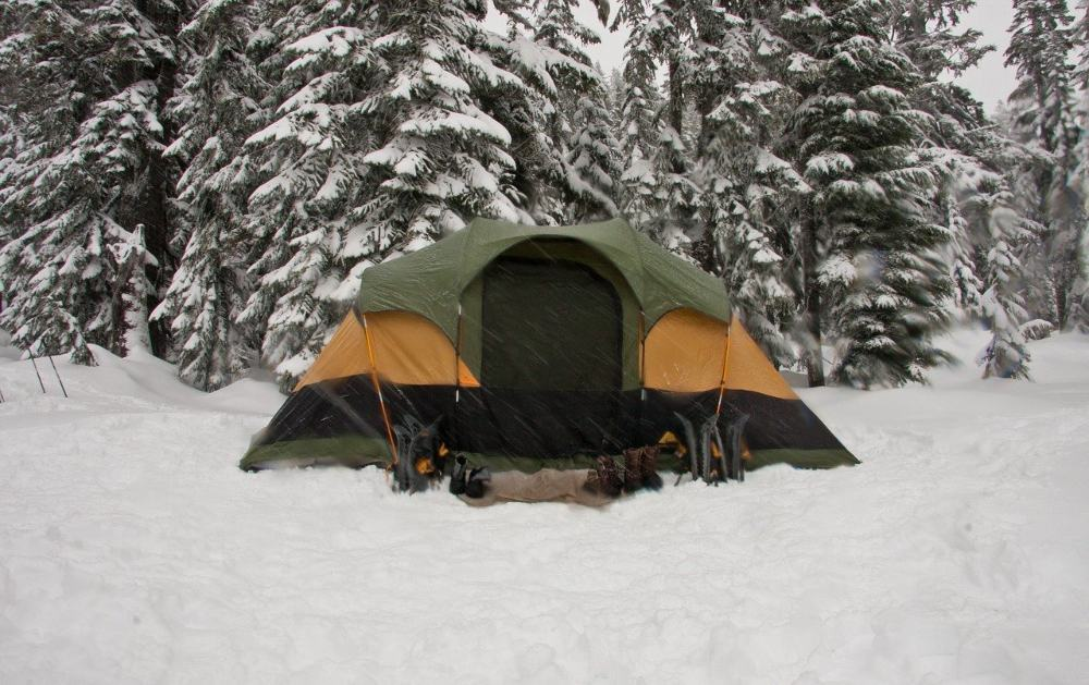tent heater for winter camping