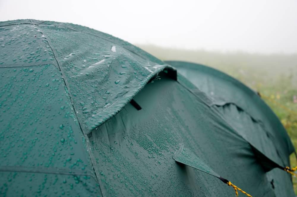 waterproofing a tent